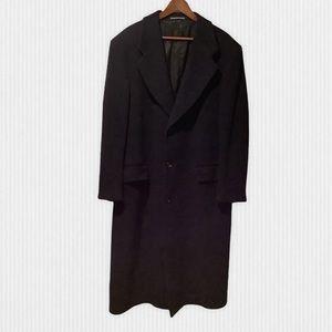 Vintage Union Made Hunt Club Wool Overcoat 42R